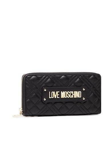 Love Moschino   Marka Logolu Kapitoneli Cüzdan Kadın Cüzdan Jc5600Pp1Cla0000 Siyah